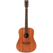 Vintage Guitars V400mh Western Guitar Mahogany