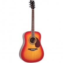 Vintage Guitars V400sb Western Guitar Sunburst