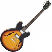Vintage Guitars Vsa500sb Acoustic Guitar Sunburst