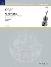 Orff C. - O Fortuna - Violon