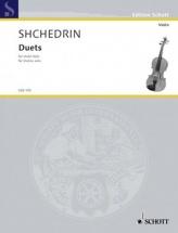Shchedrin Rodion - Duets - Violon Solo