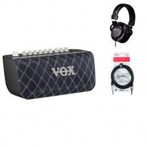 Vox Enceinte Active Basse 2x25w + Bt + Casque + Cable