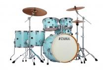 Tama Vp62rs-lbl - Silverstar Studio 22 Light Blue Lacquer
