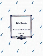 Bartok B. - Rumanian Folk Dances - Alto Et Piano