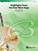 Williams John - Star Wars Saga, Highlights - Symphonic Wind Band