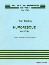 Sibelius J. - Humoresque Op.87 N°1 - Violon and Piano