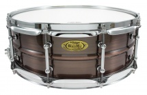 Worldmax Bkr-5014sh - Caisse Claire Black Dawg 14 X 5 - Fut Laiton Brushed Red Copper