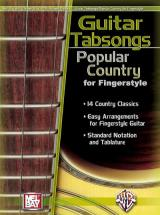 Guitar Tabsongs: Popular Country For Fingerstyle - Guitar