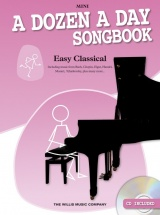 Edna Mae Burnam - A Dozen A Day Songbook - Easy Classical - Mini - Piano Solo