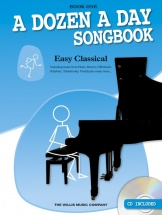 Edna Mae Burnam - A Dozen A Day Songbook - Easy Classical - Book One - Piano Solo