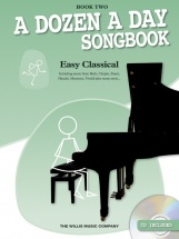 Edna Mae Burnam - A Dozen A Day Songbook - Easy Classical - Book Two - Piano Solo