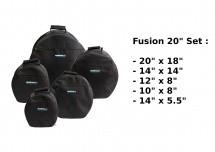 Woodbrass Housses Fusion 20 - Noir