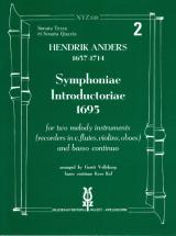 Anders Hendrick - Symphonie Introductoriae Vol.2 - Recorder Ensemble