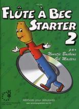 Buskens N./masters G. - Flute A Bec Starter Vol.2 + Cd