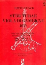 Funck Stricturae Viola Di Gambicae 1677