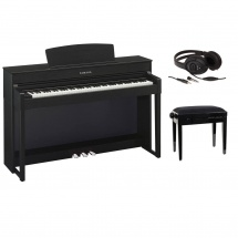Yamaha clavinova clp 545b noir banquette casque for Yamaha clavinova clp 200 price