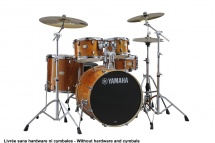 Yamaha Stage Custom Birch - Fusion 20 - Honey Amber (sans Hardware)