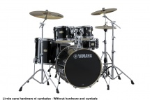 Yamaha Stage Custom Birch - Fusion 20 - Raven Black (sans Hardware)