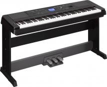 Yamaha Dgx660 Noir + Pedalier