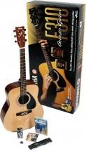 Yamaha F310p2ws Avec Support Guitare Et Dvd