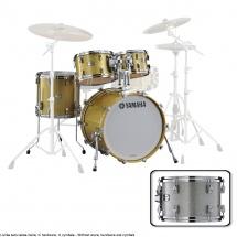 Yamaha Absolute Hybrid Maple Jazz 18x14 + 10 12 14  Silver Sparkle