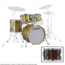 Yamaha Absolute Hybrid Maple Jazz 18x14 + 10 12 14  Classic Walnut