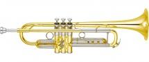 Yamaha Trompette Xeno Ytr-8335r - Vernie, Pavillon Jaune, Branche Inverse