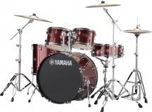 Yamaha Rydeen - Jrdp2f5bggset - Burgundy Glitter -  + Hw680w   (sans Cymbale)