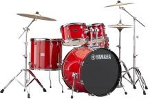 Yamaha Rydeen - Jrdp2f5hrset - Hot Red -  + Hw680w   (sans Cymbale)