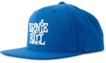 Ernie Ball Casquette Bleu Logo Eb Blanc