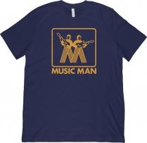 Ernie Ball T-shirt Mm Vintage Logo Gold - Xl