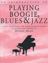 An Introduction To Playing Boogie, Blues And Jazz - Piano Solo And Guitar
