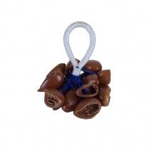 Yoman Mpp011 - Crecelles Djudju Noix De Cola Bracelet
