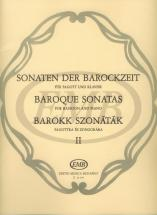 Baroque Sonatas 2 - Bassoon And Piano
