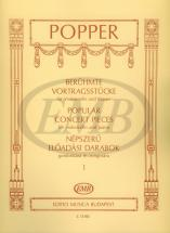 Popper D. - Popular Concert Pieces Vol.1 - Violoncelle Et Piano