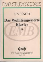 Bach J.s. - Das Wohltemperierte Klavier Ii - Piano