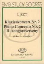 Liszt Franz - Piano Concerto N°2 - Study Score