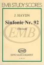 Haydn - Syphony Nr 92 - Study Score