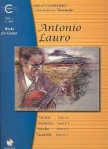 Lauro A. - Works For Guitar : Venezuela (vol.1)