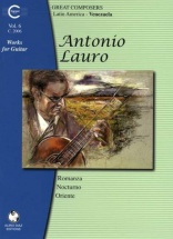 Lauro A. - Works For Guitar : Venezuela (vol.6)