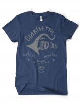 Ze Barnyshop Tee-shirt Femme Navy/gris L