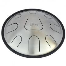 Metal Sounds Zen05 Plain Steel - 9 Notes Harmonyavec Support Housse Et Baguettes