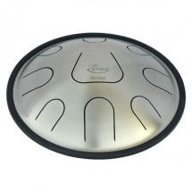 Metal Sounds Zen08 Plain Steel - Omegaavec Support Housse Et Baguettes