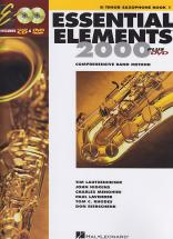 Essential Elements 2000 Vol.1 + Dvd - Saxophone Tenor