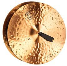 CYMBALES FRAPPEES ZILDJIAN K CONSTANTINOPLE VINTAGE ORCHESTRAL MEDIUM HEAVY 18  - K1122