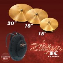 Zildjian Pack 2 Kerope 20+18+15+ Housse Offerte