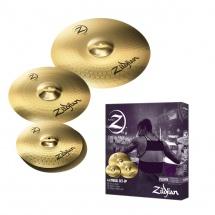 Zildjian Pack Plz4pk Planet Z Cymbales 14 16 20