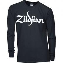 Zildjian Taille L - T-shirt Manches Longues Noir