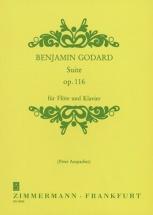 Godard Benjamin - Suite Op.116 - Flute and Piano