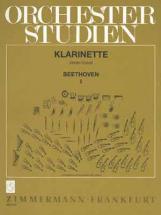 Orchesterstudien Für Klarinette - Beethoven Vol.1